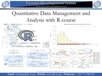 Quantitative Data Management and Analysis with R course