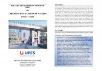 Faculty Development Program on Cybersecurity and Cyberwar
