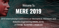 2019 International Conference on Mechanical, Electronic and Robotics Engineering (MERE 2019)