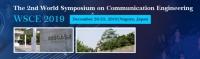 2019 The 2nd World Symposium on Communication Engineering (WSCE 2019)