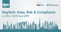 RegTech: Data, Risk & Compliance, London, 19 - 20 June 2019
