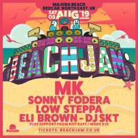 BEACHJAM, Redcar Sat 3rd August 19 North East's Biggest Summer Beach Party!
