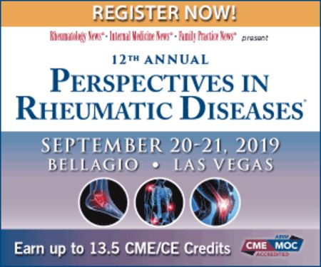 12th Annual Perspectives in Rheumatic Diseases Conference, Las Vegas, Nevada, United States
