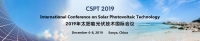 Int'l Conference on Solar Photovoltaic Technology (CSPT 2019)