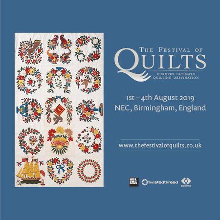 The Festival of Quilts, Marston Green, West Midlands, United Kingdom