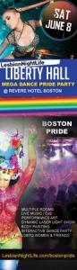 LesbianNightLife Mega Women's Pride Party @ Liberty HALL (LGBTQ)
