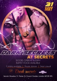 Ladies Night with Dark Secrets (at Secrets (Covent Garden))