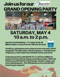 Grand Opening Of Garrett's Family Market Milford
