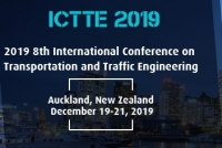 2019 8th International Conference on Transportation and Traffic Engineering (ICTTE 2019)
