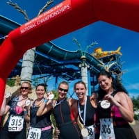 Thorpe Park Sprint Triathlon, 9 June 2019