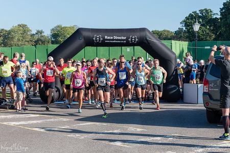 Andover Trail Half Marathon, September 2019, Enham Alamein, England, United Kingdom