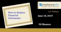 How to Analyze Financial Statements 2019