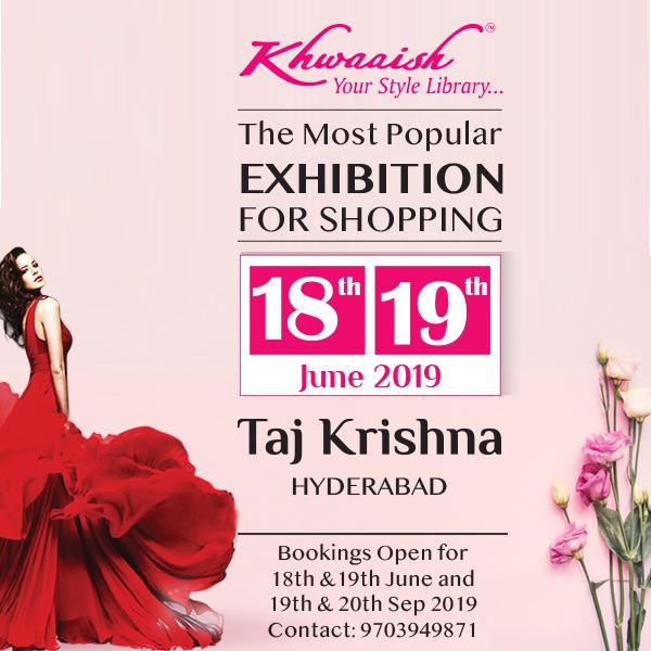 Khwaaish Exhibition cum Sale at Hyderabad - Bookmystall, Hyderabad, Telangana, India