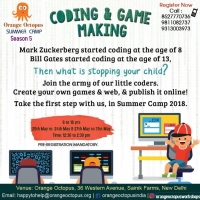 Coding & Game Making at Orange Octopus