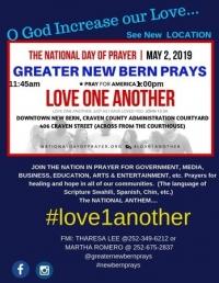 GREATER NEW BERN PRAYS
