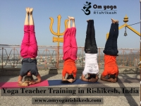 Yoga in Rishikesh, India