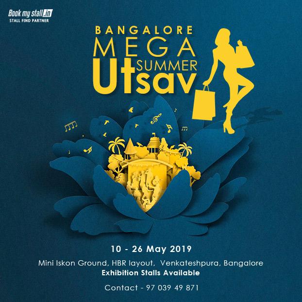 Bangalore Mega Summer Utsav - BookMyStall, Bangalore, Karnataka, India