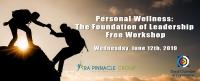 Personal Wellness Workshop