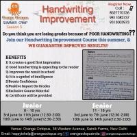 Handwriting Improvement