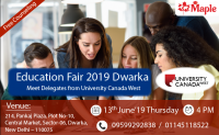 Education Fair 2019 in Dwarka - Maple Inc