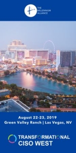 Transformational CISO West Assembly in Las Vegas - August 2019