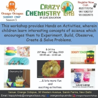 Crazy Chemistry Lab