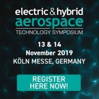 Electric & Hybrid Aerospace Technology Symposium in Koln, Germany, Nov 2019