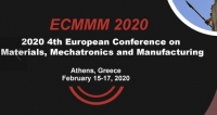 2020 4th European Conference on Materials, Mechatronics and Manufacturing (ECMMM 2020)