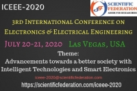 3rd International Conference On Electronics and Electrical Engineering