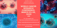 4th World Cancer Research Conference (WCRC)