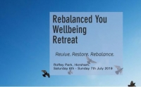 Rebalanced You Wellbeing Weekend Retreat
