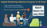 Digital marketing Diploma program in 30 days