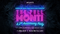 The Full Monti: A 2nd Anniversary Summertime Party