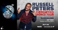 Supermoon ft. Russell Peters Deported World Tour, Bangalore
