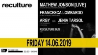 Reculture with Mathew Jonson [Live], Francesca Lombardo