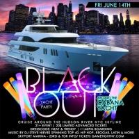 NYC Blackout Yacht Party Cruise at Skyport Marina Cabana Yacht 2019