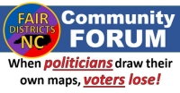 Fair Districts Community Forum Featuring Democracy for Sale Film
