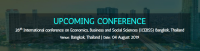 28th International conference on Economics, Business and Social Sciences (ICEBSS)