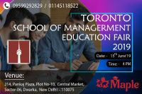 Study in Canada - Free Education Fair in Dwarka - Free Registration!!