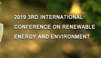 2019 3rd International Conference on Renewable Energy and Environment (ICREE 2019), Dublin, Ireland