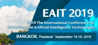 2019 The International Conference on Education and Artificial Intelligence Technologies (EAIT 2019)