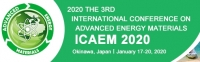 2020 The 3rd International Conference on Advanced Energy Materials (ICAEM 2020)