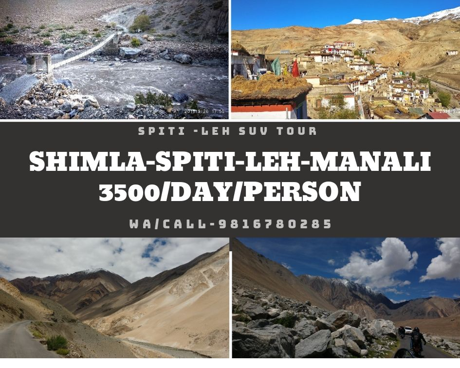 Leh Spiti SUV Tour, Kullu, Himachal Pradesh, India