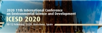2020 11th International Conference on Environmental Science and Development (ICESD 2020)