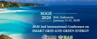 2020 2nd International Conference on Smart Grid and Green Energy (SGGE 2020)
