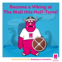 Become a Viking at The Mall this Half-Term!