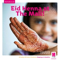 Eid Henna at The Mall Wood Green!