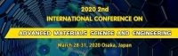 2020 The 2nd International Conference on Advanced Materials Science and Engineering (AMSE 2020)