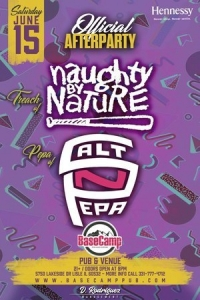 Official Salt n Pepa + Naughty By Nature After Party