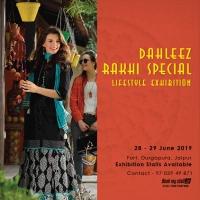 Dahleez Rakhi Special Lifestyle Exhibition at Jaipur - BookMyStall
